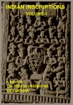 Indian Inscriptions Volume 1